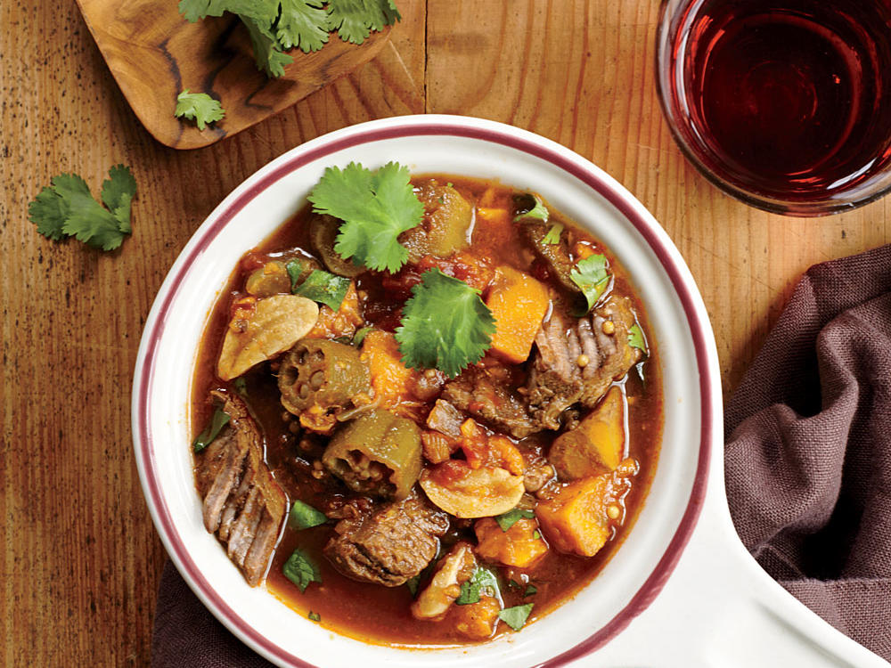 For the Globe-Trotting Cook: West African Beef, Plantain, and Okra Stew