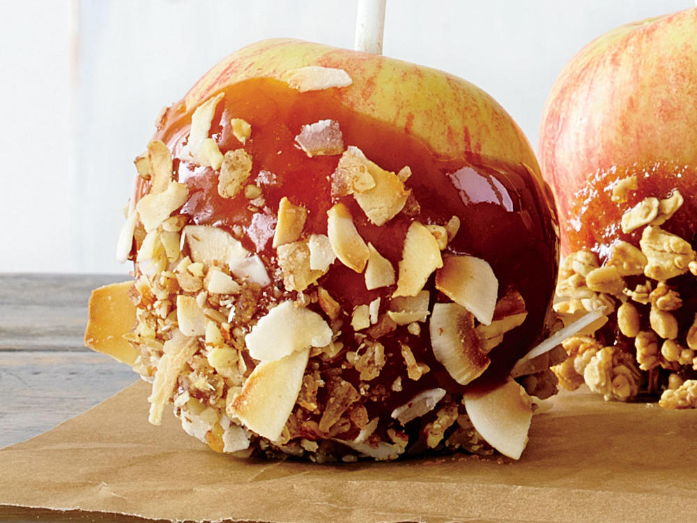 Hummingbird Caramel Apples