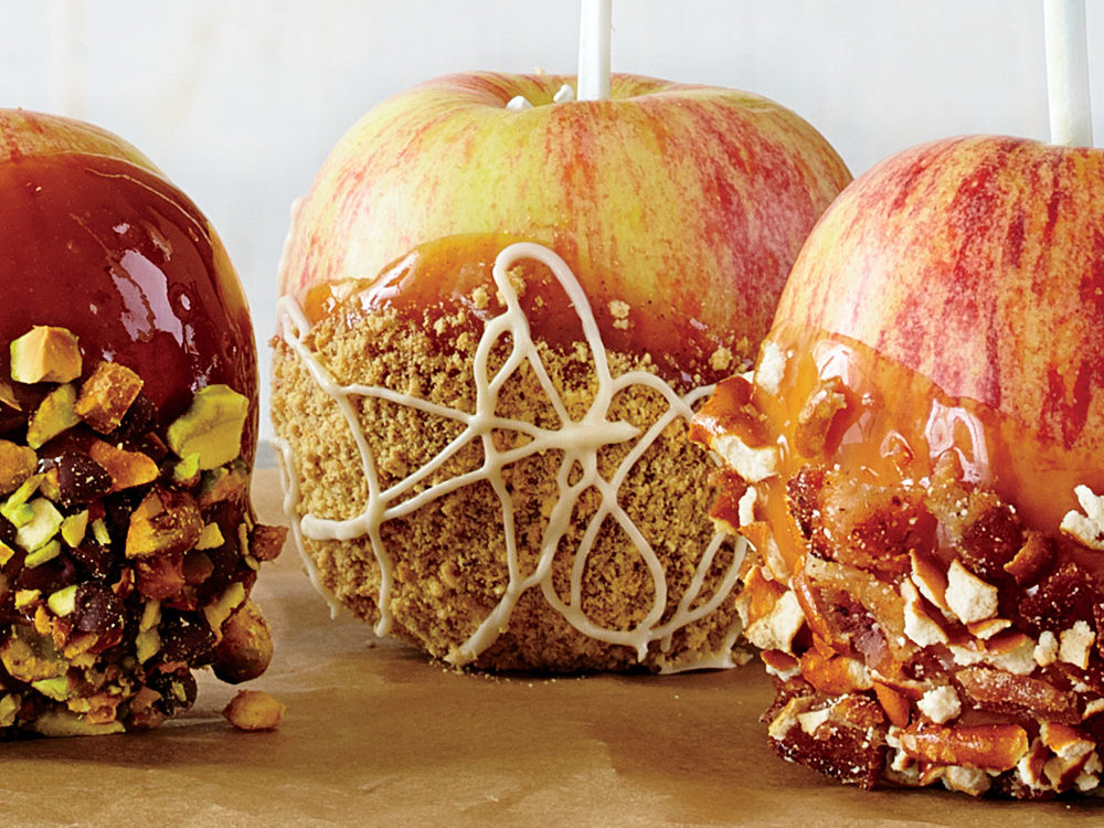 This pumpkin-spiced apple has three decadent layers to make for a crumbly, dangerously-good dessert.