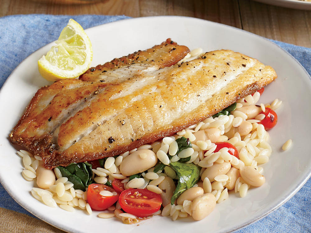 Feel free to sub another sustainable fish, such as flounder or red snapper, for the tilapia in this versatile dish.