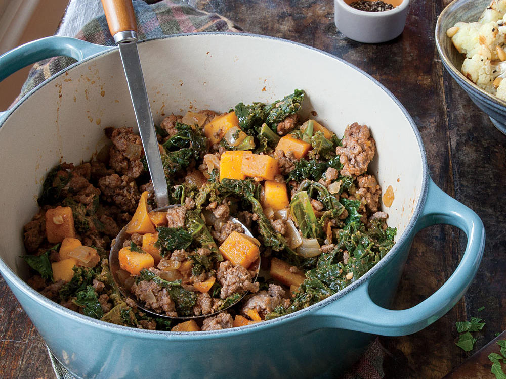 Lamb and Butternut Squash Stew