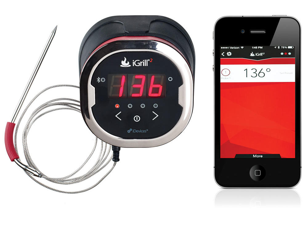 iGrill² Bluetooth Smart Meat Thermometer