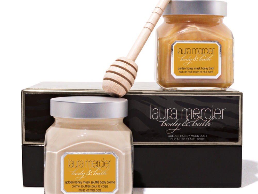 Laura Mercier Golden Honey Musk Body & Bath Duet
