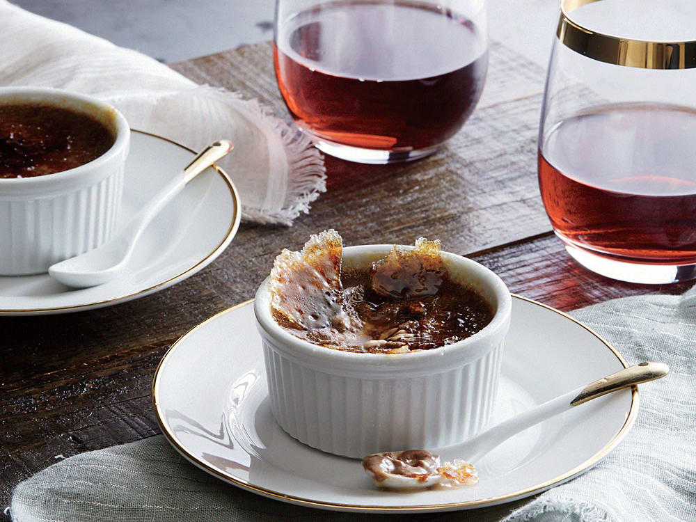 milk chocolate creme brulee recipe