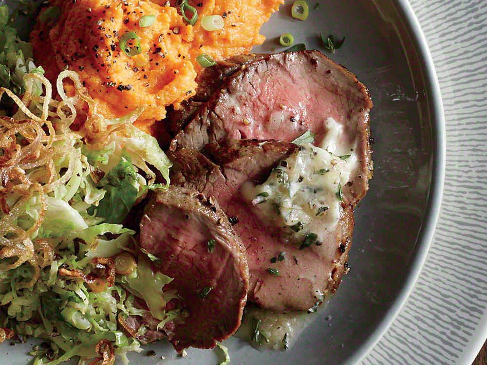 Roast Beef Tenderloin with Cognac Butter