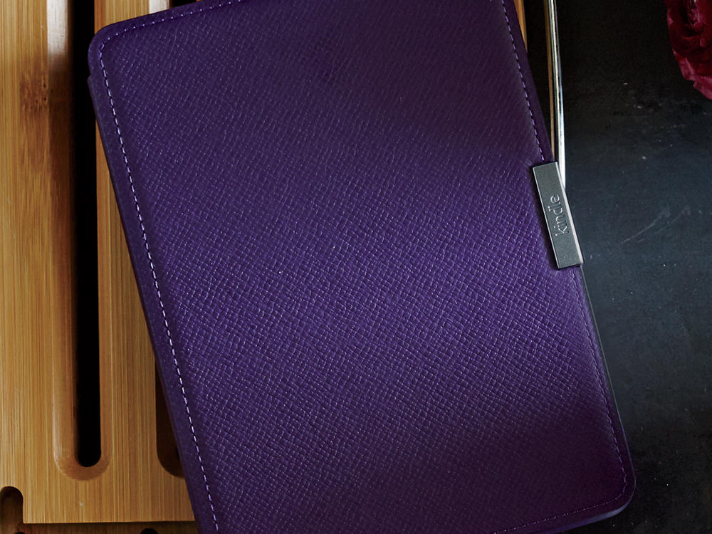 Kindle Paperwhite and Leather Cover