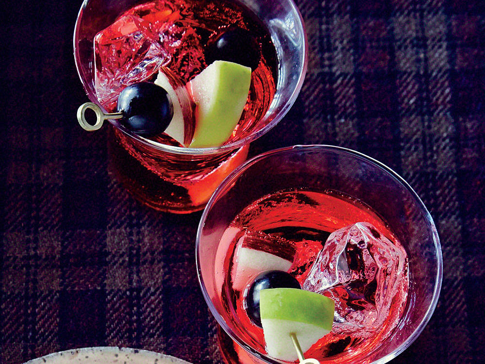 Make the most of day-old wine by turning it into a lightly spiced, brandy-enhanced punch. Throw in some fresh fruit to soak up the flavors, and you have a happy, crowd-pleasing concoction.