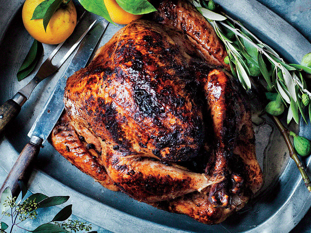 Our Moroccan-Spiced Turkey has a fragrant spice rub that infuses the turkey with subtle Middle Eastern flavor.