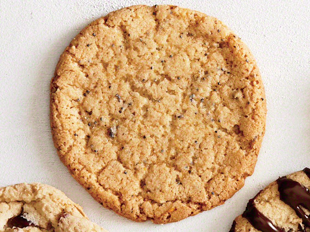 Simple homemade dough provides the ideal base for a cookie made with naturally sweet ingredients.