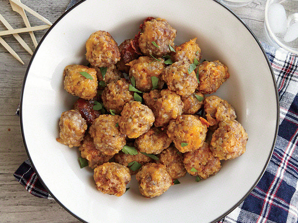 Recipe Makeover: 5-Ingredient Sausage Balls