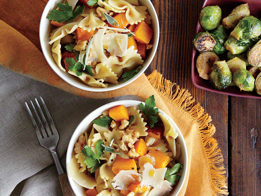 Farfalle with Butternut Squash