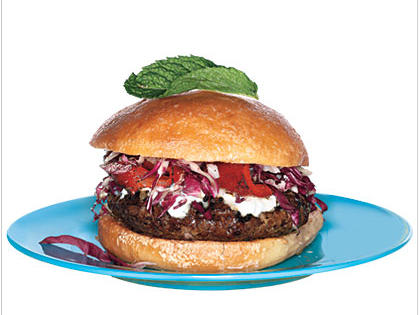 lamb burger with indian spices recipe