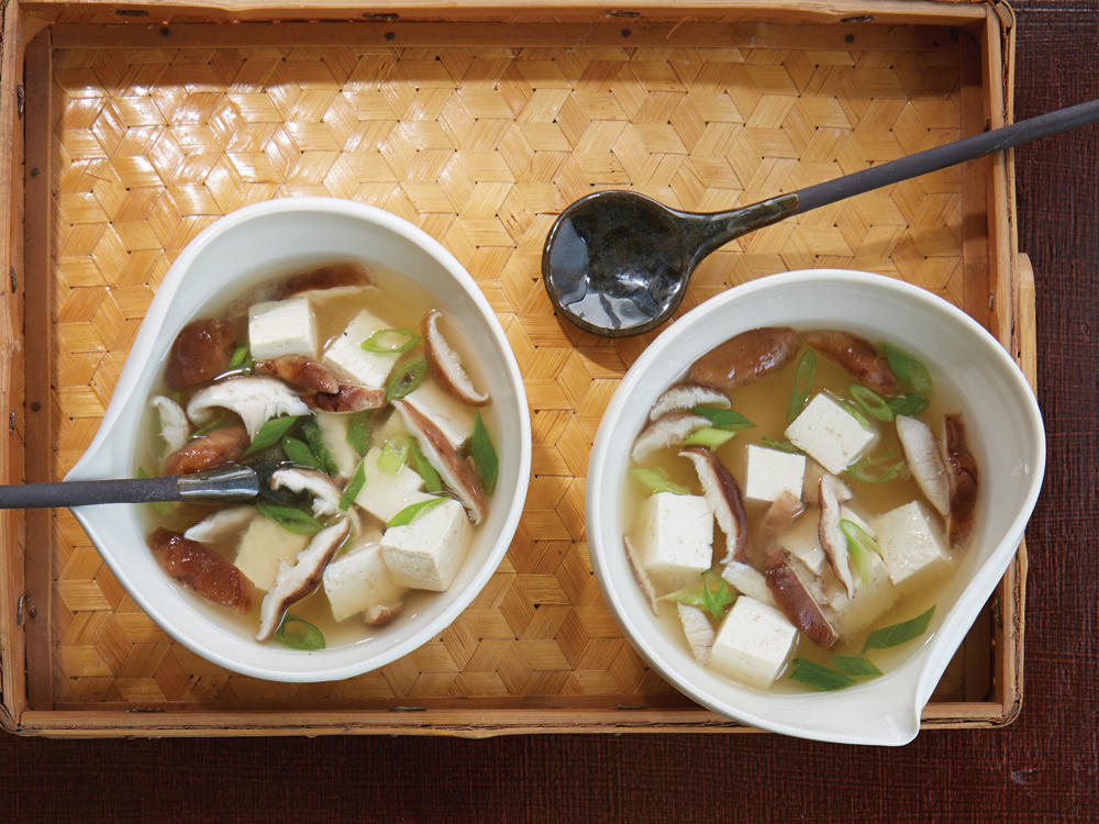 miso soup with tofu recipe