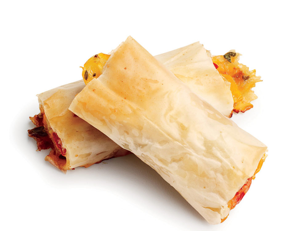 These tomato turnovers impress, whether served as a snack or a party appetizer.