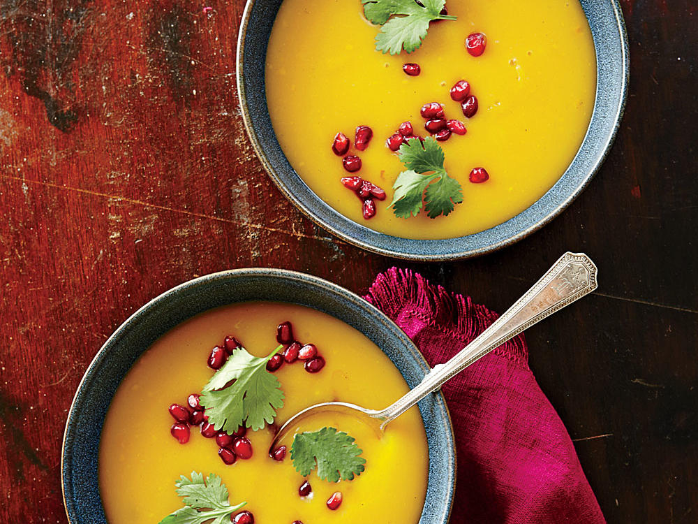 Warm-Spiced Butternut Squash Soup