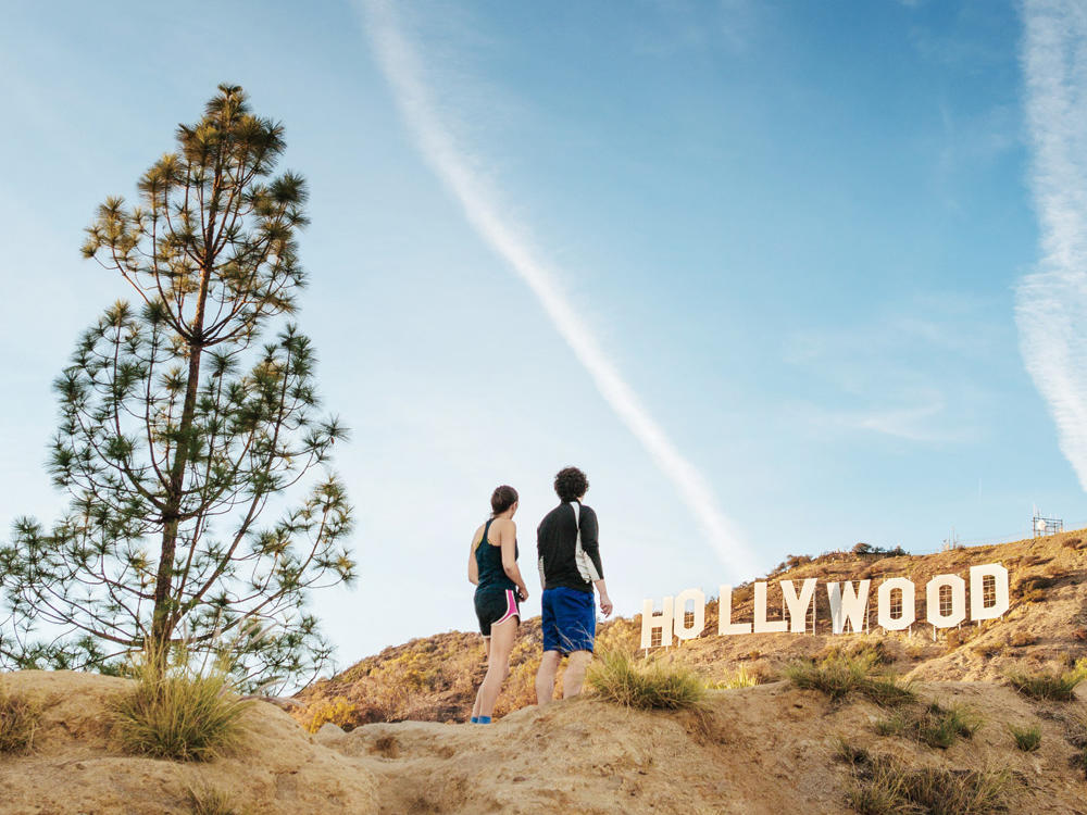 take a hike at bronson canyon park in los angeles