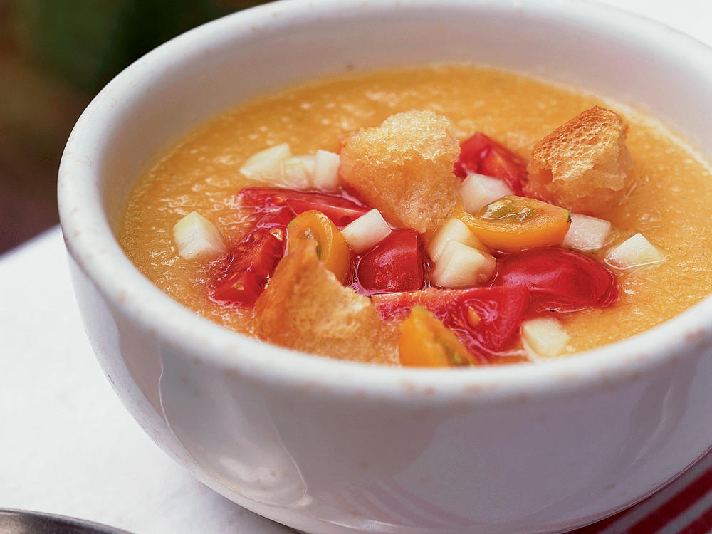 yellow tomato gazpacho recipe