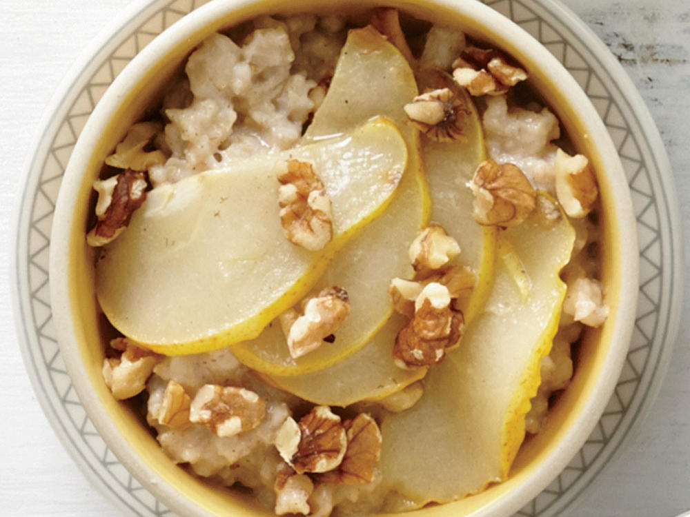 Chai Spice and Pear Oatmeal