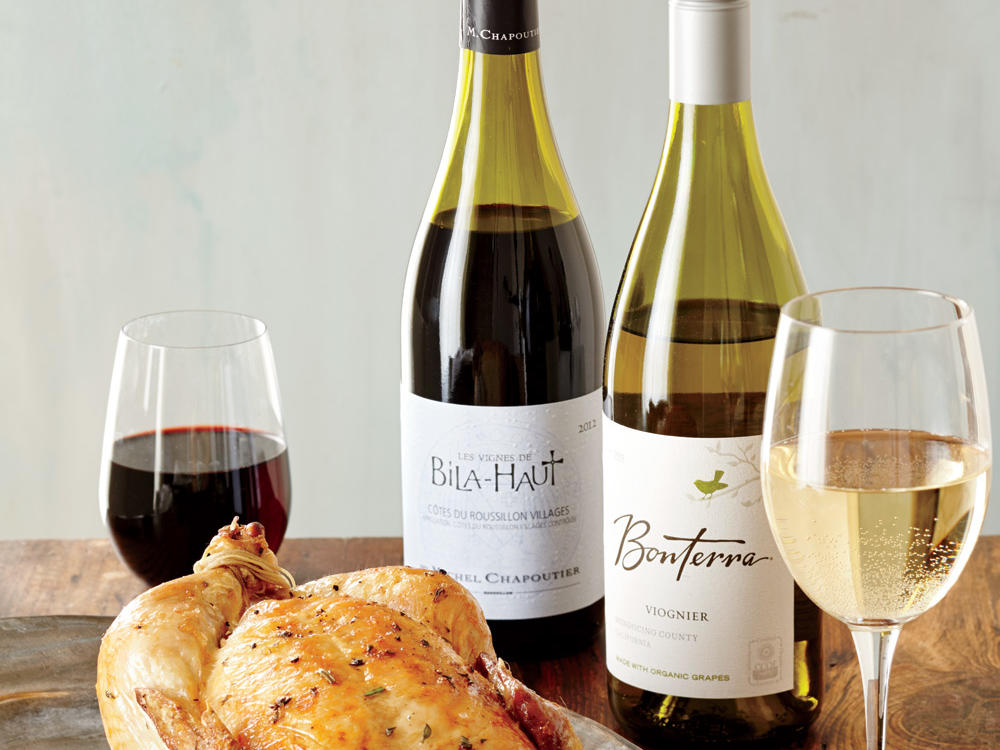 Roast Chicken Wine Pairing