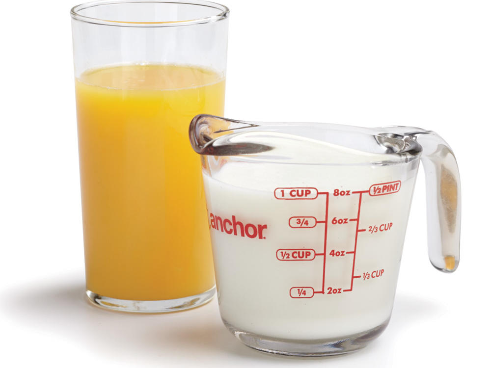 keep muffin batter moist with orange juice and milk