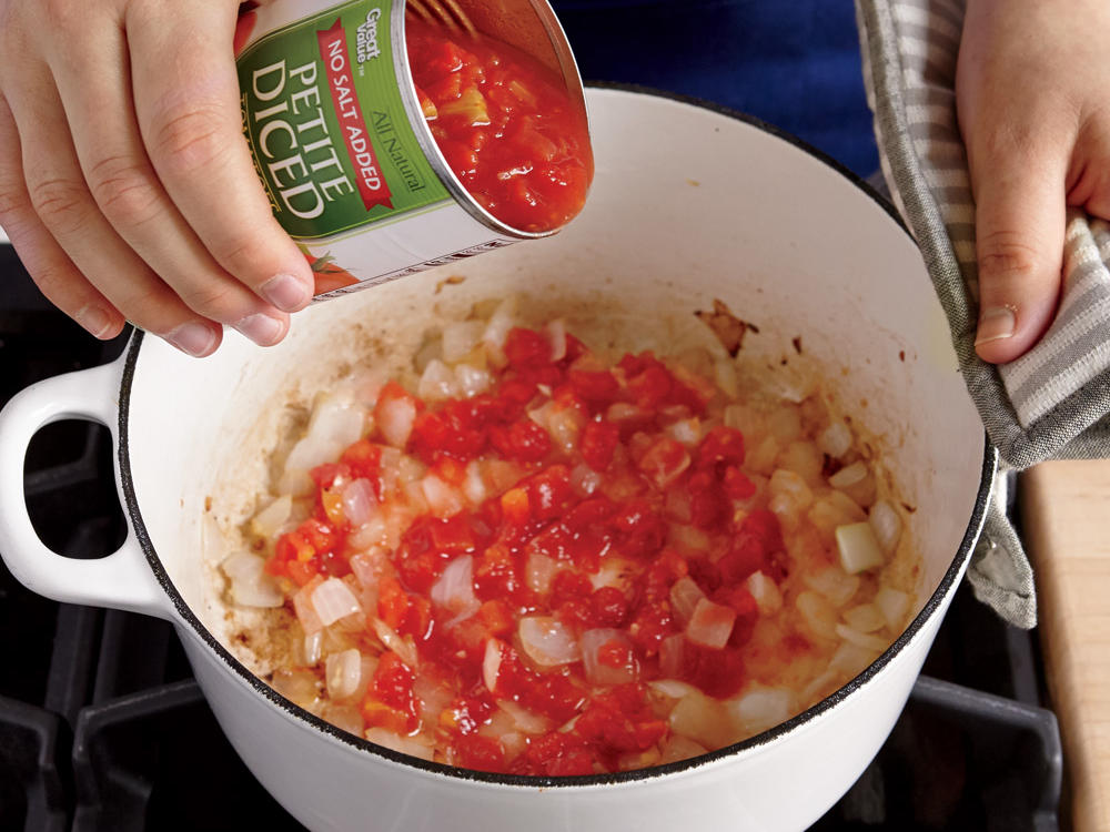 3. Add Tomatoes