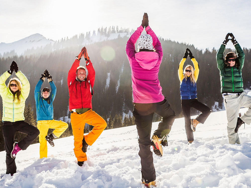 Kết quả hình ảnh cho How to exercise properly in the winter?