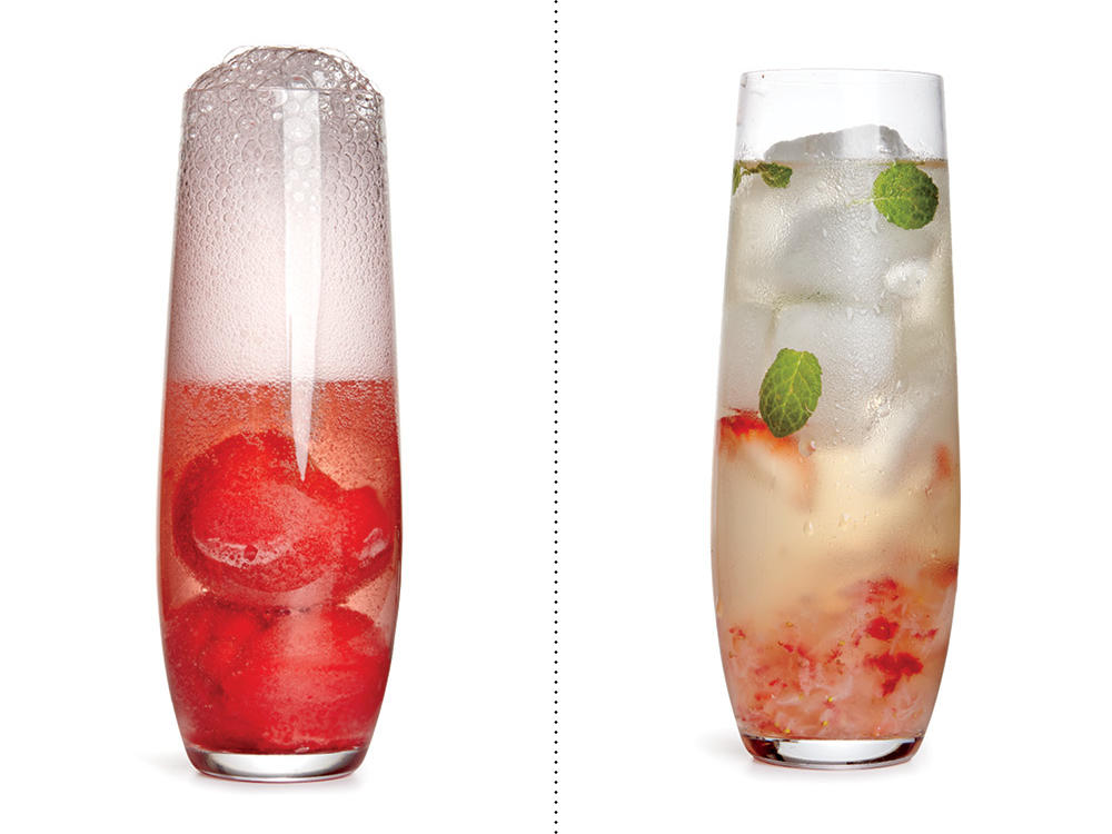 Instead of Champagne Punch, Sip on a Wine-Berry Spritzer