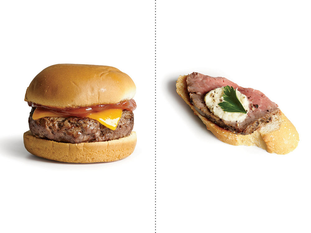 Instead of Ground Beef Sliders, Go for Beef Tenderloin