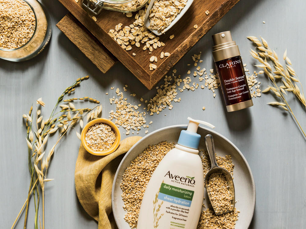Beauty Products with Oats
