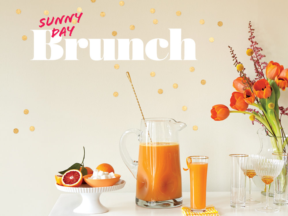 Sunny Day Brunch Menu