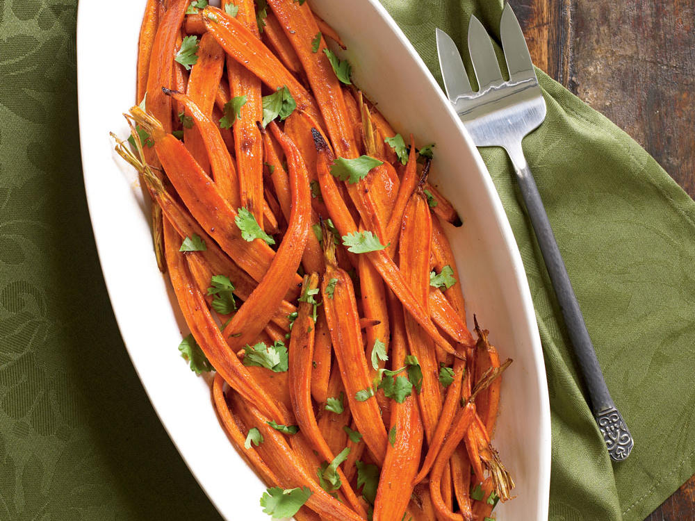 North Dakota Recipe: Carrots Roasted with Smoked Paprika
