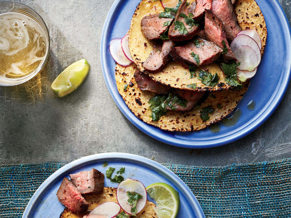 Grilled Flank Steak with Chipotle-Orange Mojo