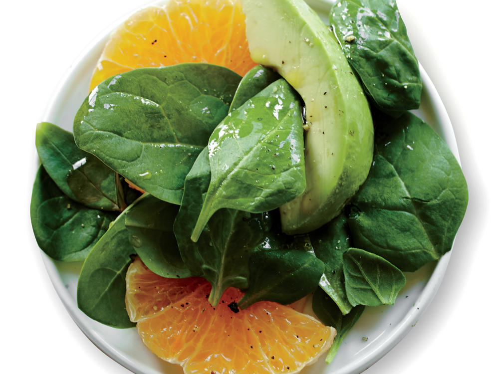 Creamy avocado and juicy citrus contrast nicely in this salad.