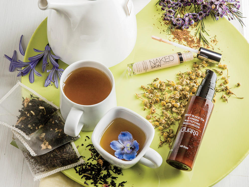 Tea-Infused Beauty Products
