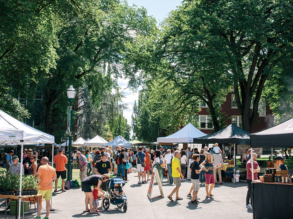 Explore the Portland Farmers' Market