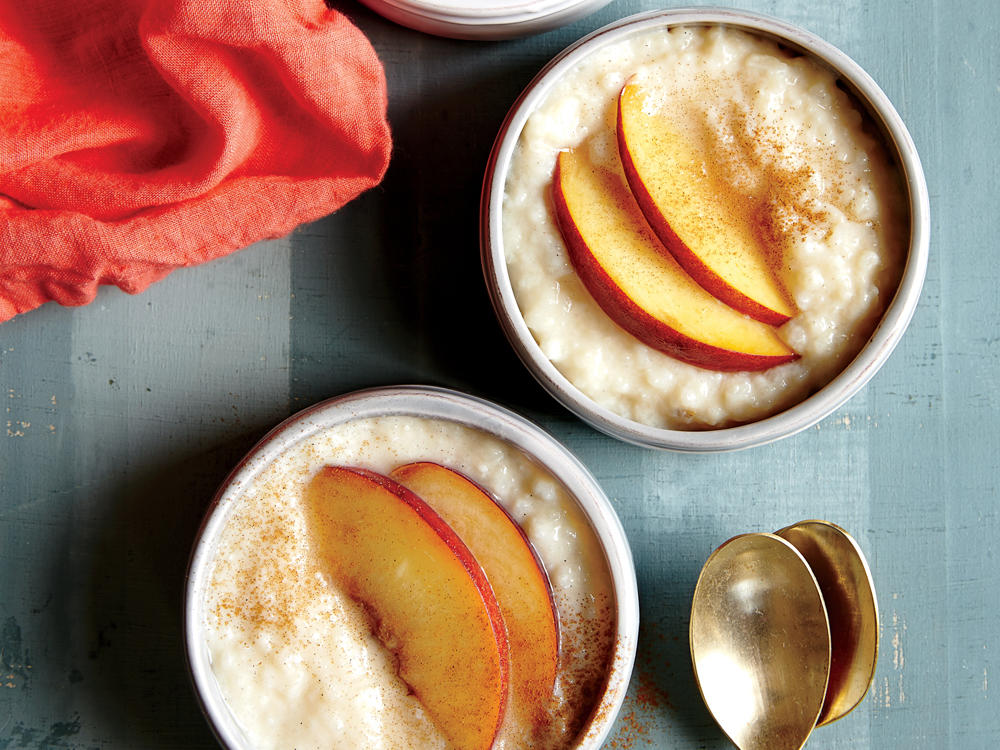 Let the slow cooker do all the work with this easy, fuss-free pudding recipe that is great for a cold night in bed, or hosting a crowd. We love the slight tartness of ripe, juicy peaches with this fuss-free, no-stir pudding, but a blend of plump summer berries would be equally delicious. Serve it with peach slices and a dash of cinnamon for an elegant, sophisticated presentation.