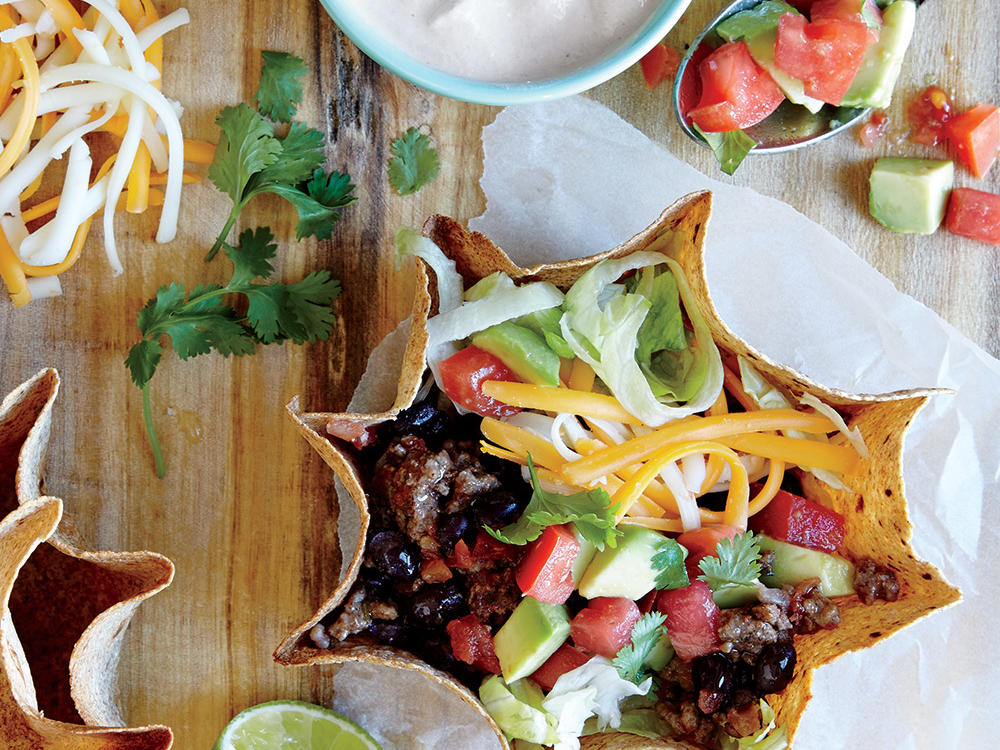 Recipe Makeover: Beef and Bean Taco Salad