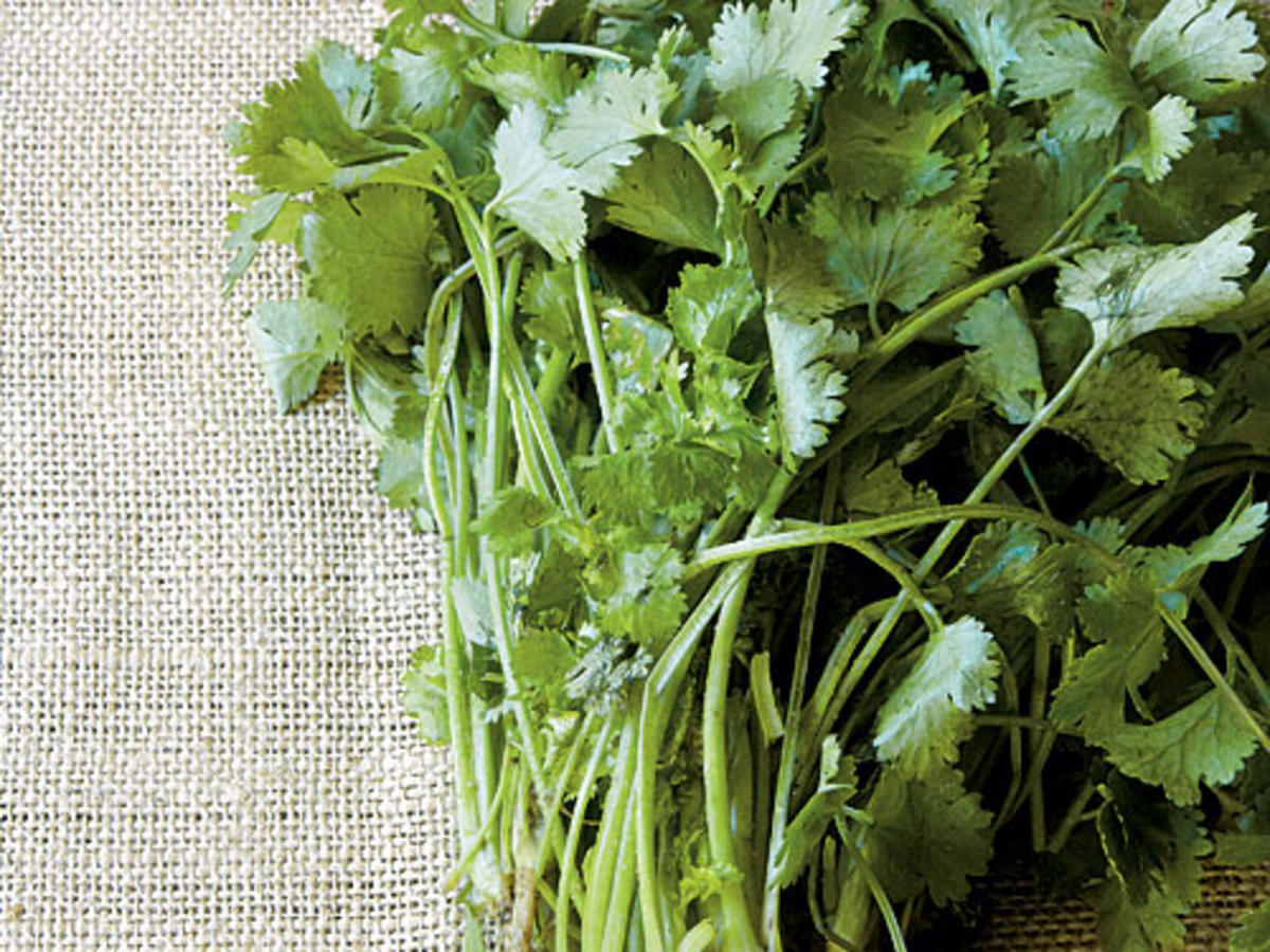 A Quick Trick for Chopping Herbs
