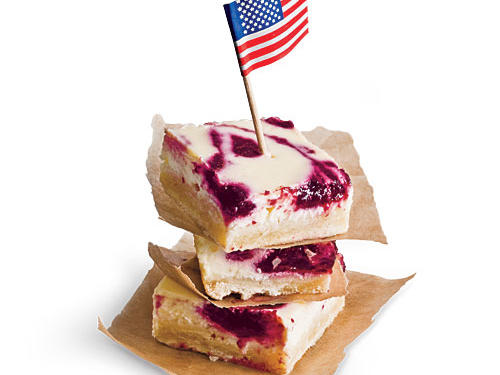 Fresh Cherry Cheesecake Bars