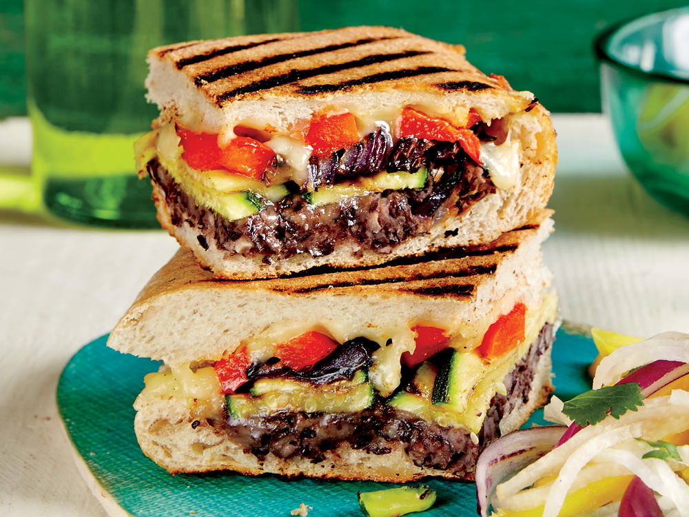 Mexican-Style Grilled Vegetable Sandwich