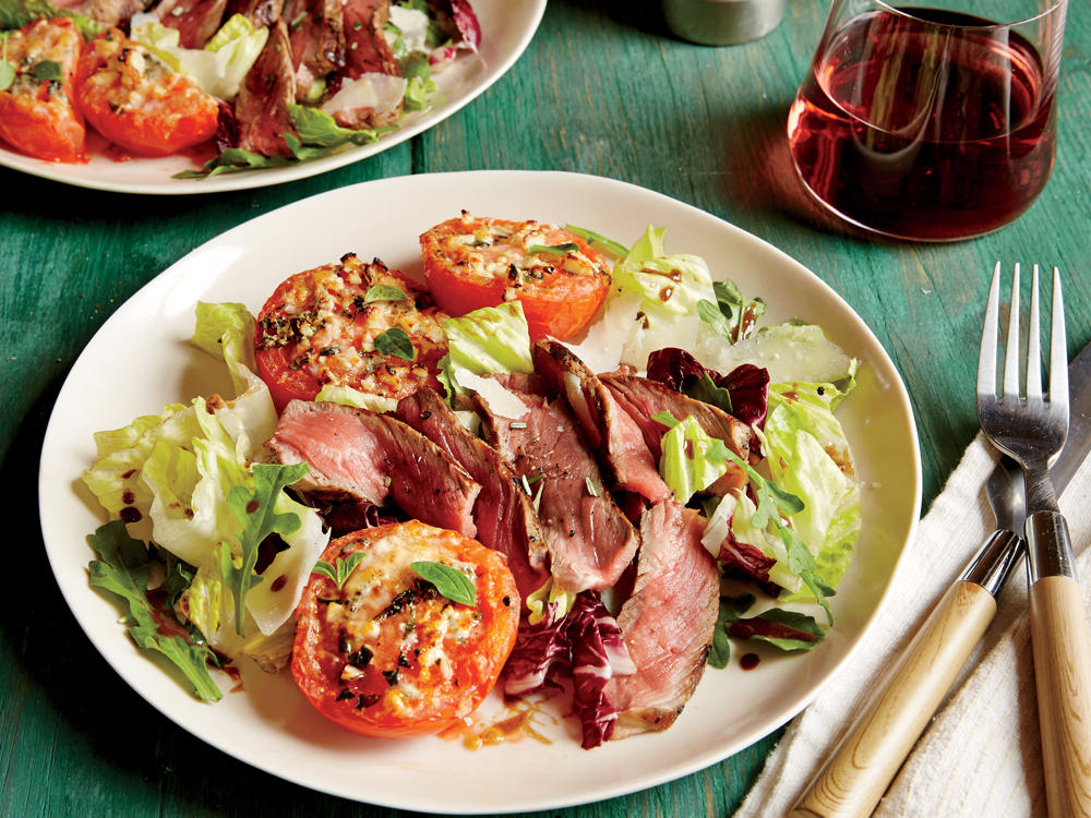 June: Tuscan Steak Salad