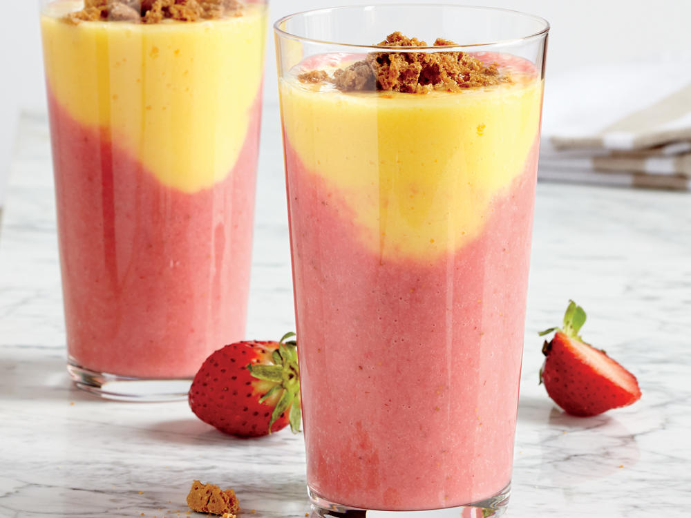 Serve as a special dessert, or divide this fruity shake into smaller portions for a cool and creamy afternoon treat.