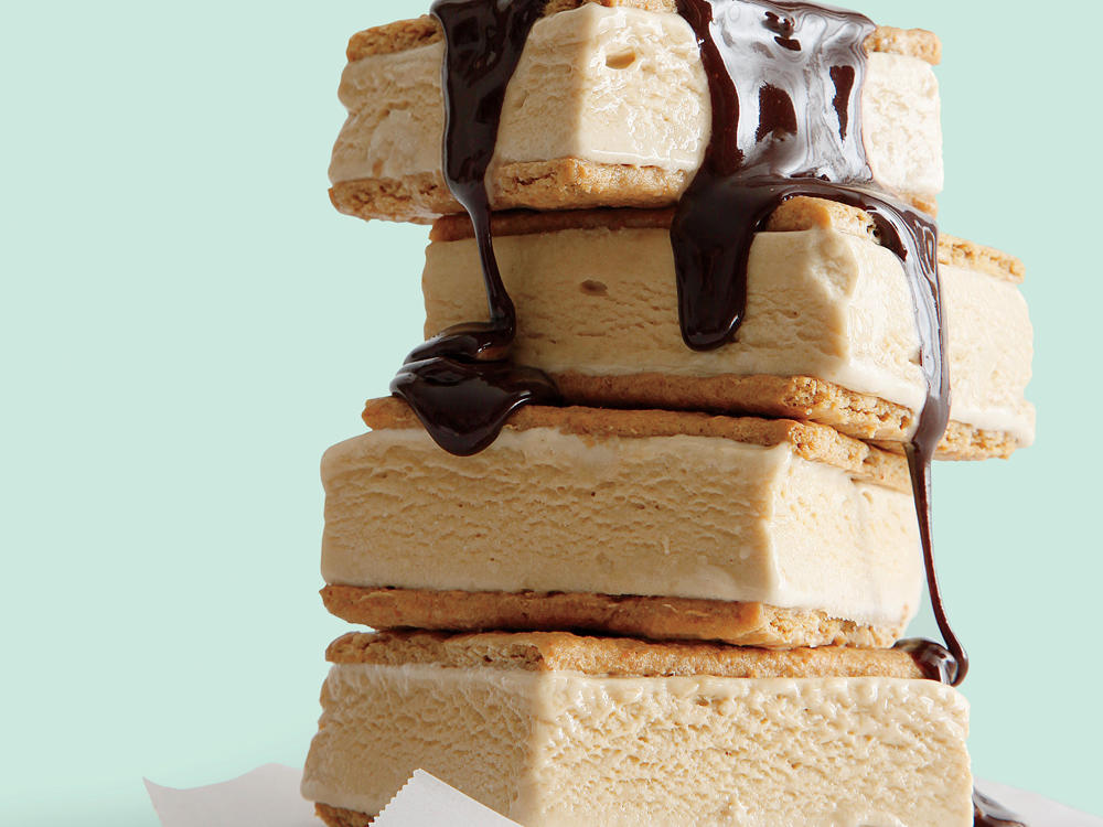 July: S'mores Ice-Cream Sandwiches