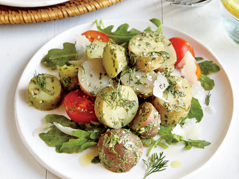 Recipe Makeover: Pesto Potato Salad