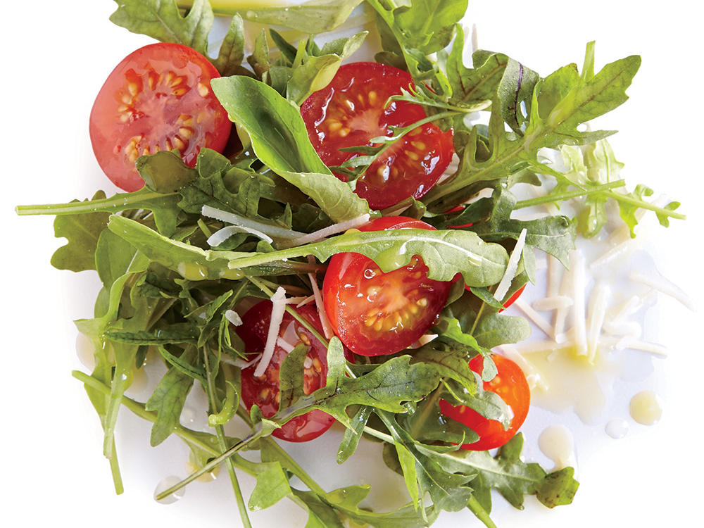 Recipe Makeover: Arugula and Cherry Tomato Salad