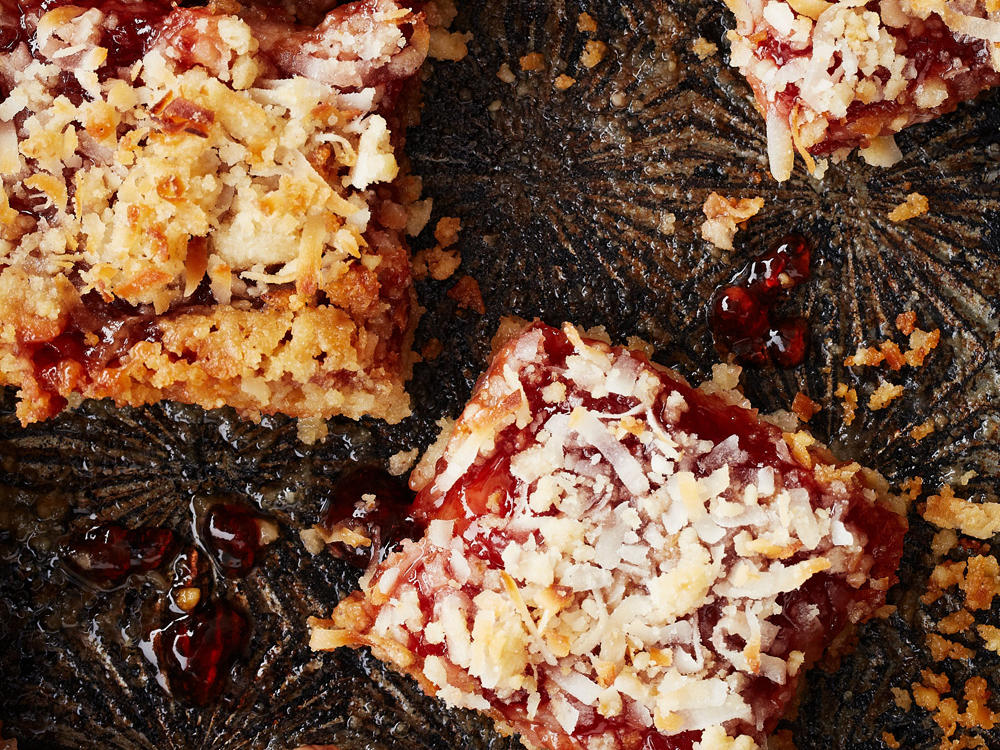 Cherry-Coconut Bars
