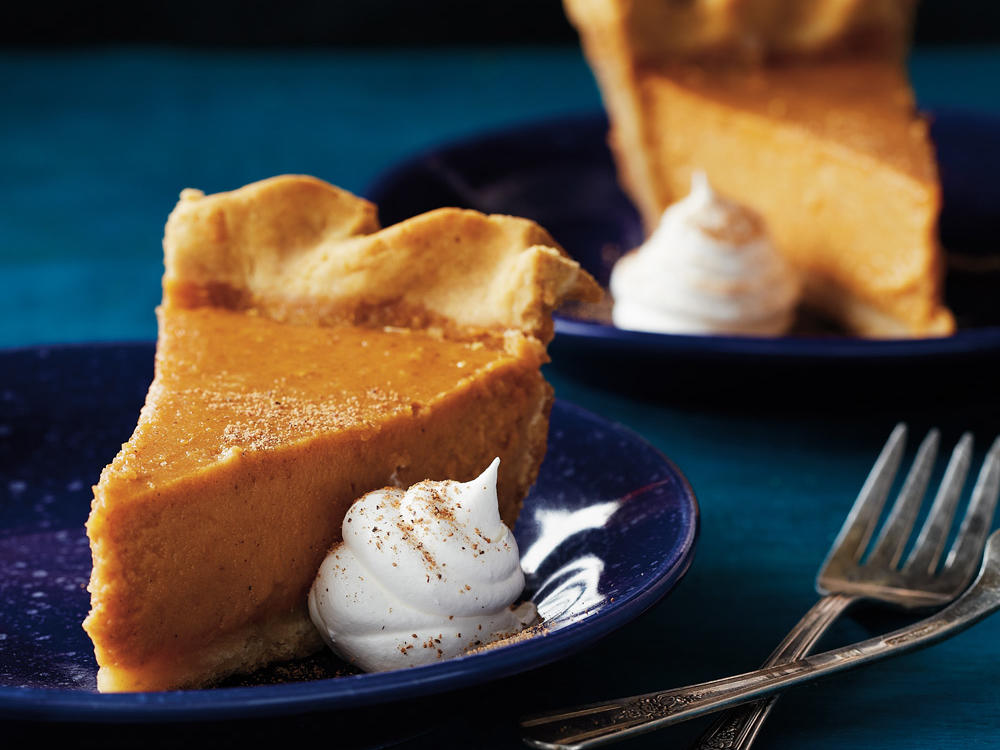 An alternative to the old-fashioned pumpkin pie, this gluten-free sweet potato dessert is seasoned to perfection with cinnamon, ginger, nutmeg, and cloves. Serve with a large dollop of light whipped topping dusted with nutmeg, and savor each heavenly bite.