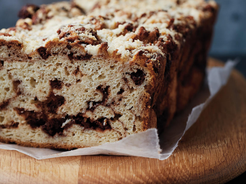 Babka has its origins in the Eastern European Jewish tradition. It is typically baked in a loaf pan, filled with cinnamon or chocolate, and topped with streusel. Kids will love this sweet bread and it is sure to be a staple for holidays to come.