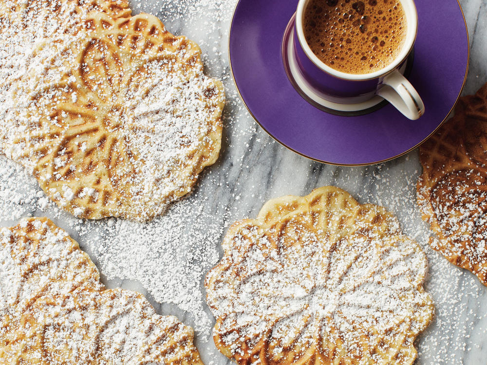 At last, the beloved cookie is now gluten-free. You'll need a pizzelle iron to make these delicate Italian waffle cookies. Prepare the recipe using the Cannoli Shell Variation to make delicious cannoli.
