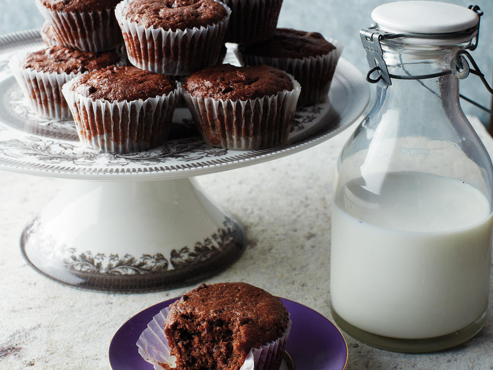 Whether or not your family requires a gluten-free diet, chocolaty muffins stuffed to the brim with chocolate minichips are always a hit.